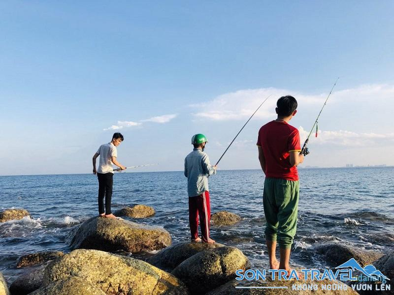 câu cá bán đảo sơn trà