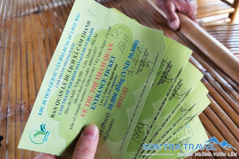 bảng giá vé tham quan phố cổ Hội An